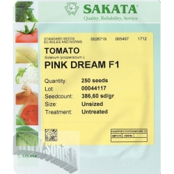 Tomato 'Pink Dream' H, 250 seeds