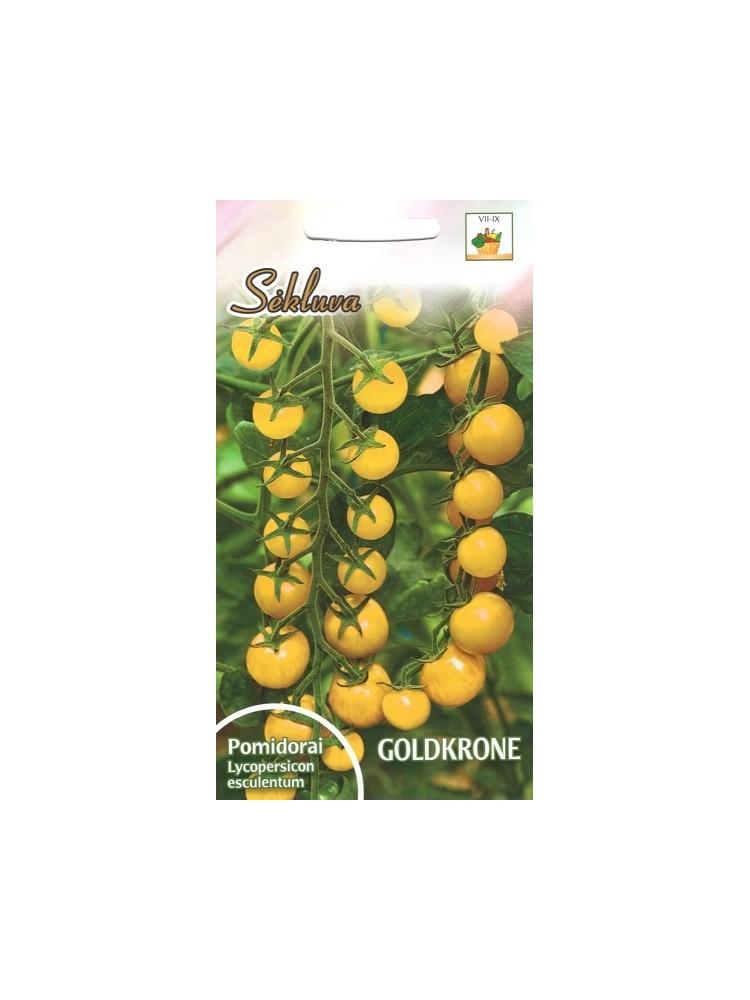 Pomidorai valgomieji 'Goldkrone' 0,2 g