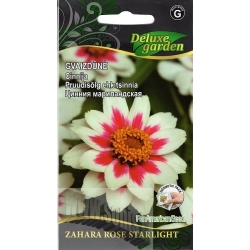 Zinnia 'Zahara Rose Starlight' 10 semi
