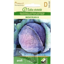 Red Cabbage 'Mohykan' H, 0.5 g