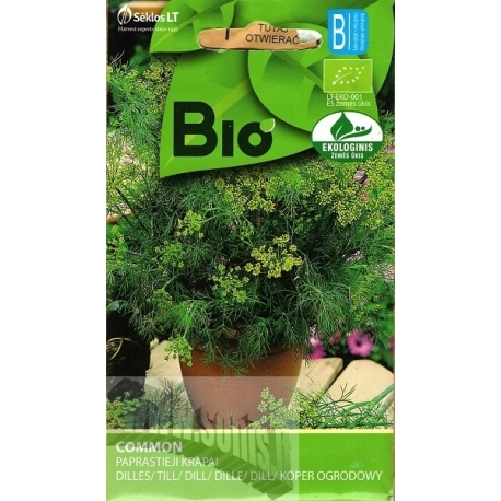 Dill 'Common' 3 g