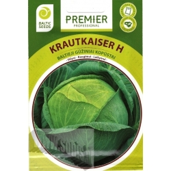 White cabbage 'Krautkaiser' H, 45 seeds
